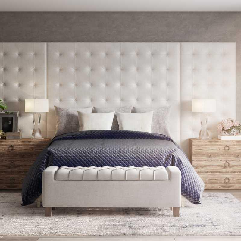 Modern, Classic, Glam Bedroom Design by Havenly Interior Designer Maria