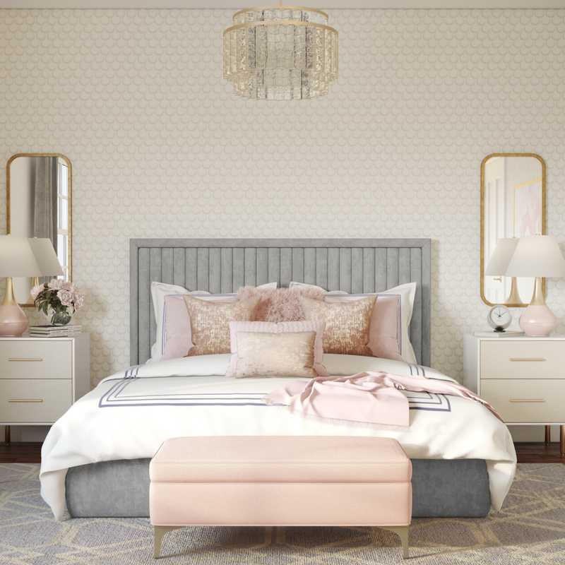 Glam Bedroom Design by Havenly Interior Designer Jennifer