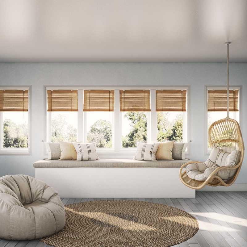 Bohemian, Coastal, Scandinavian Other Design by Havenly Interior Designer Jennifer