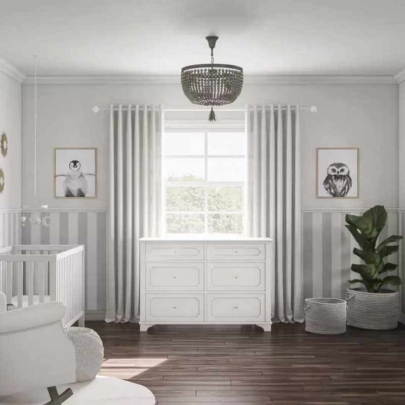 Classic Nursery Design by Havenly Interior Designer Mariel