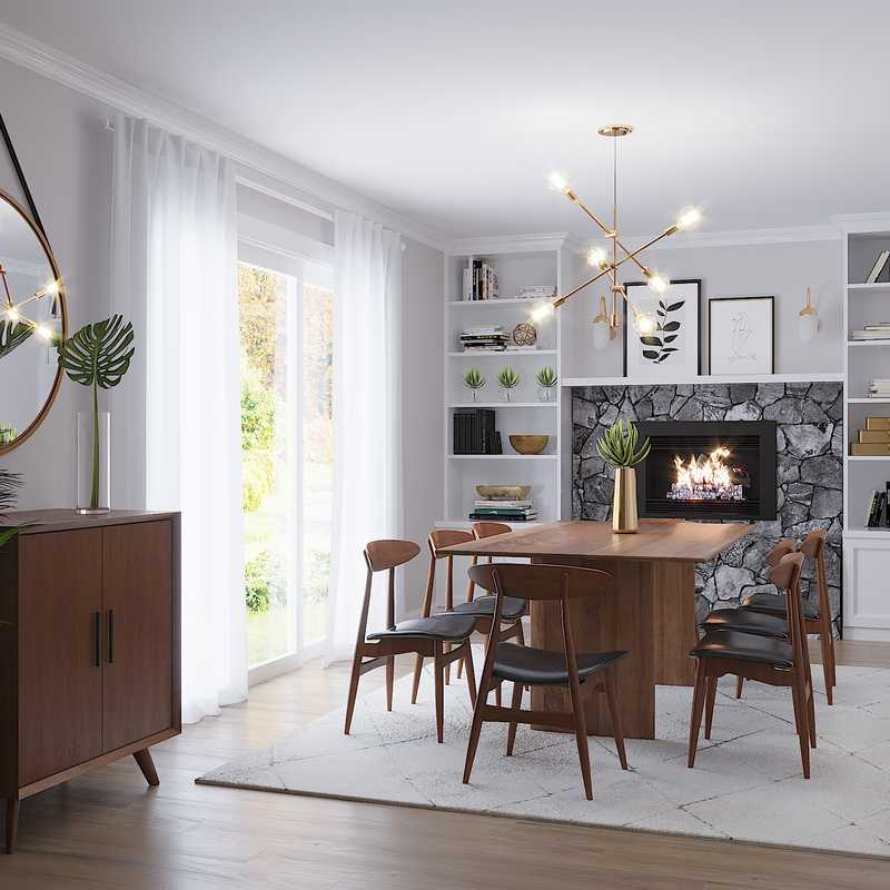 Contemporary, Modern Dining Room Design by Havenly Interior Designer Bianca