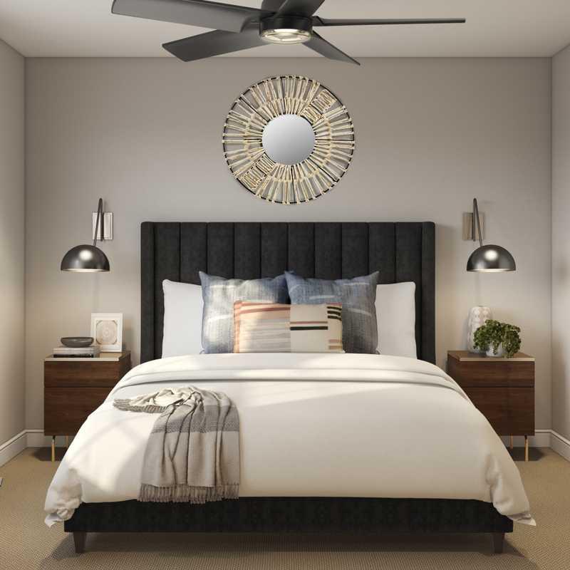 Modern Bedroom Design by Havenly Interior Designer Maria