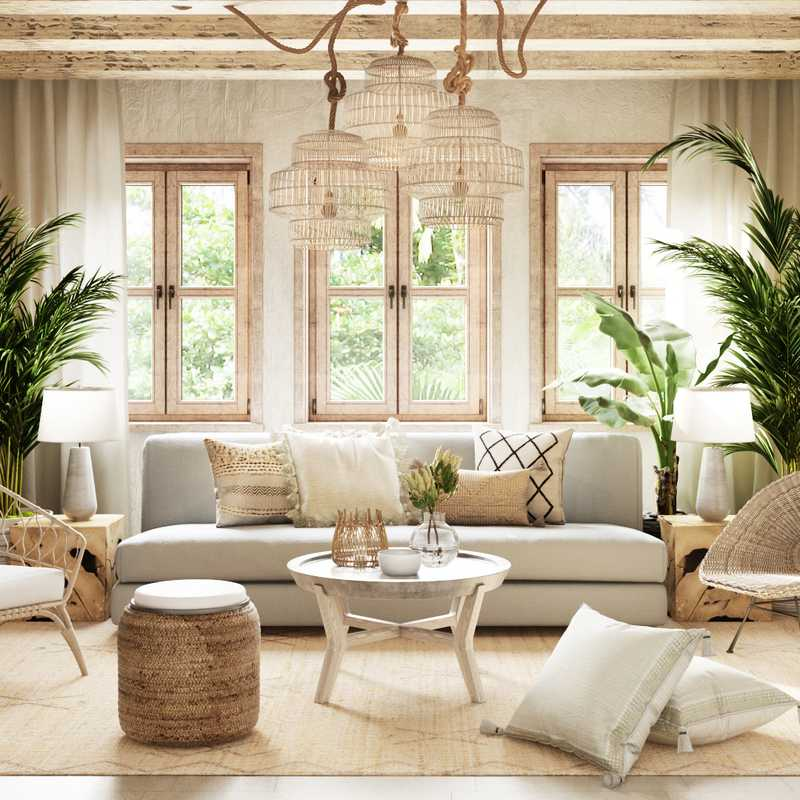 Modern, Bohemian, Rustic  Design by Havenly Interior Designer