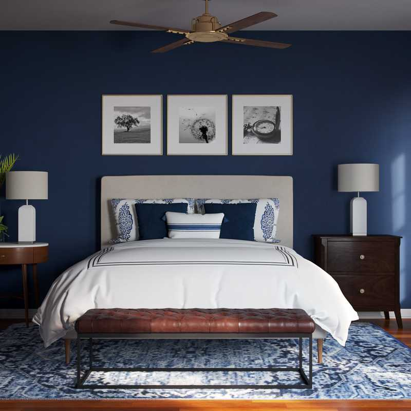 Classic, Glam, Transitional Bedroom Design by Havenly Interior Designer Amanda