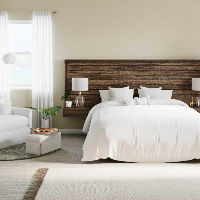 Modern, Classic Contemporary Bedroom Design by Havenly Interior Designer Carla