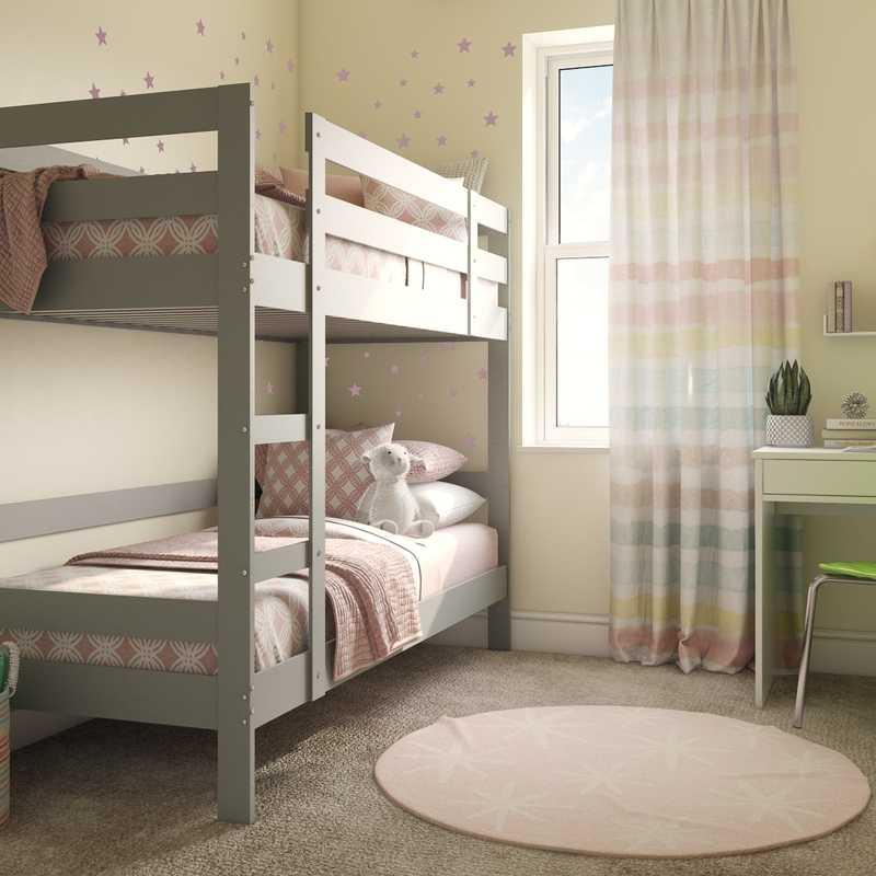 Glam, Preppy Bedroom Design by Havenly Interior Designer Sydney
