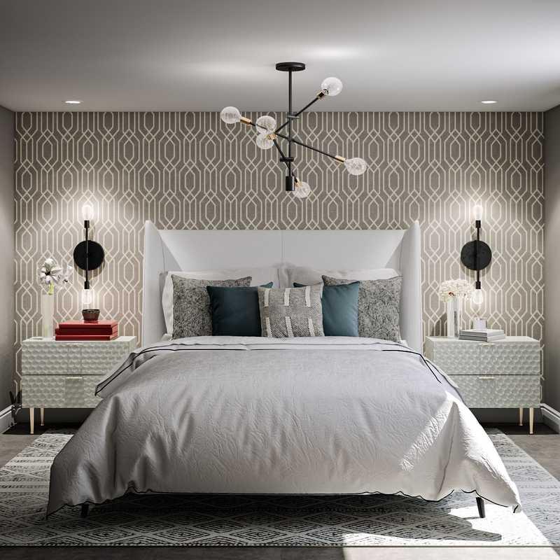 Transitional, Scandinavian Bedroom Design by Havenly Interior Designer Fiorella