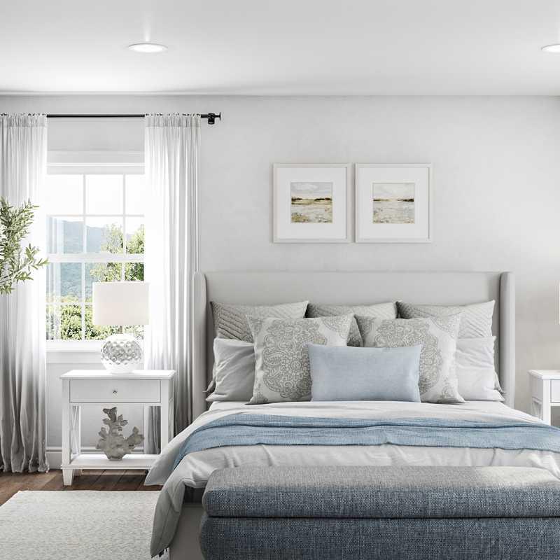 Classic, Coastal, Transitional Bedroom Design by Havenly Interior Designer Lisa