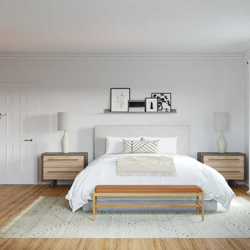 Modern Bedroom Design by Havenly Interior Designer Leslie