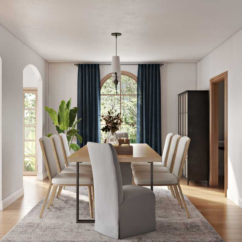 Contemporary, Modern, Classic Dining Room Design by Havenly Interior Designer Makenzie