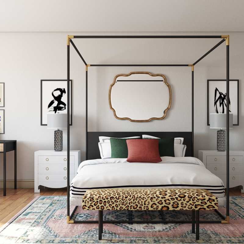 Eclectic, Bohemian Bedroom Design by Havenly Interior Designer Maggie