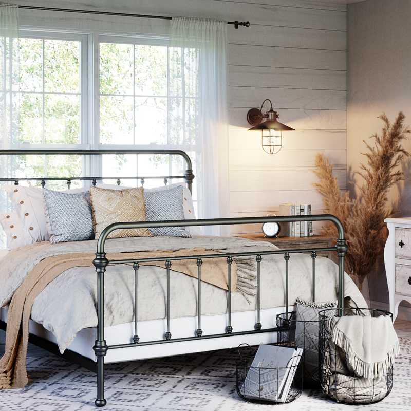 Farmhouse  Design by Havenly Interior Designer Havenly