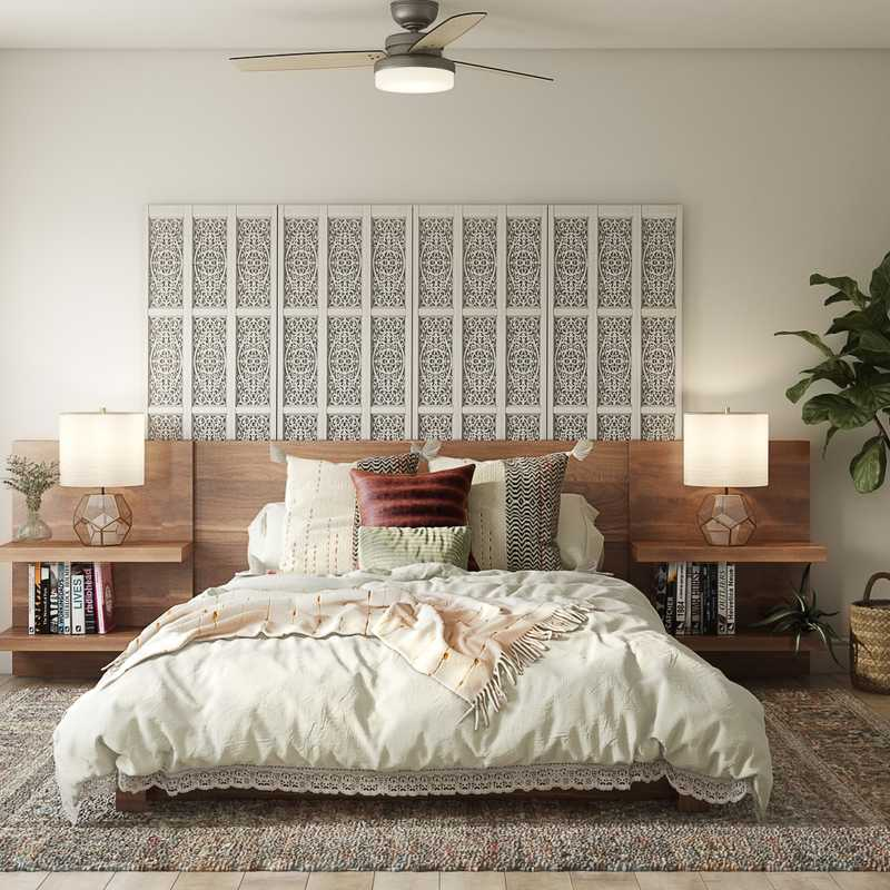 Eclectic, Bohemian Bedroom Design by Havenly Interior Designer Danielle