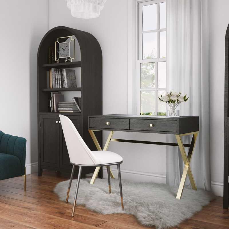 Office Design by Havenly Interior Designer Merna
