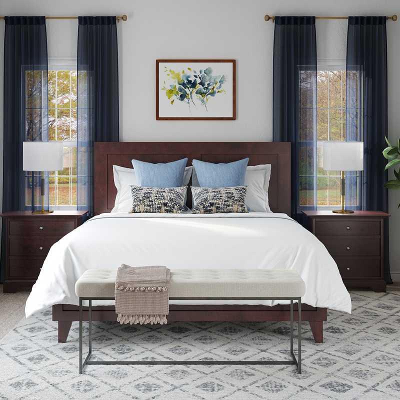 Classic Bedroom Design by Havenly Interior Designer Laura