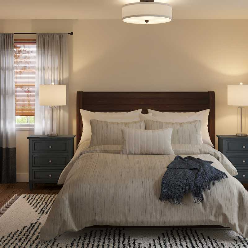 Classic, Traditional Bedroom Design by Havenly Interior Designer Nancy