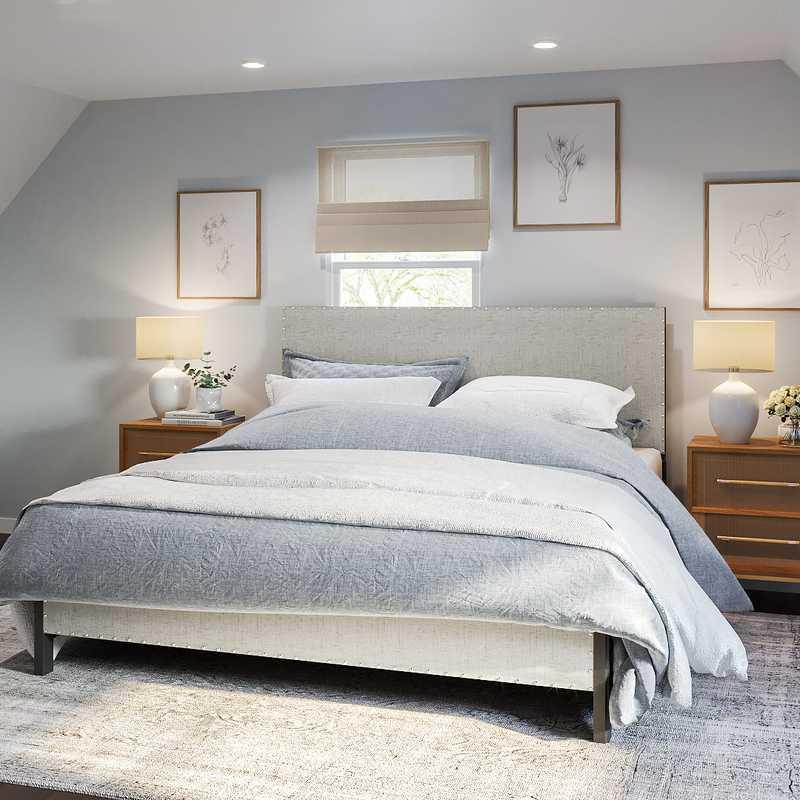 Modern, Classic, Glam Bedroom Design by Havenly Interior Designer Marisa