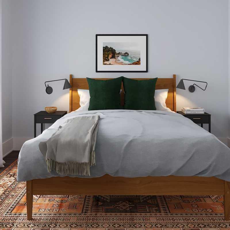 Eclectic, Bohemian Bedroom Design by Havenly Interior Designer Savannah