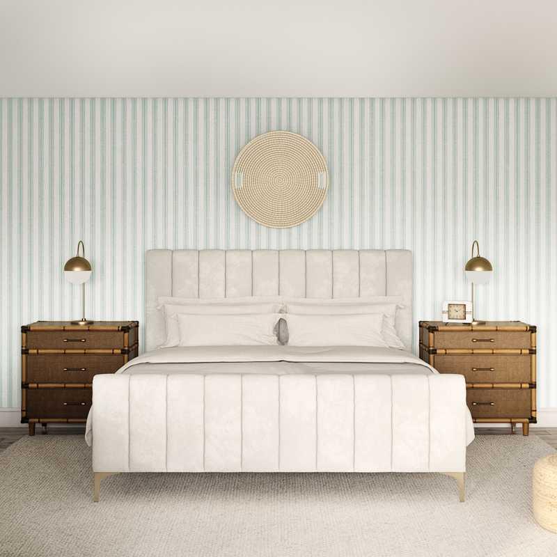 Classic, Coastal Living Room Design by Havenly Interior Designer Lindsay