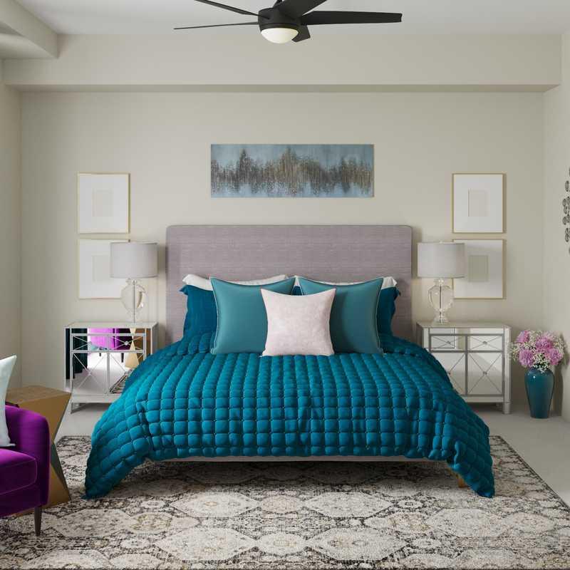 Glam Bedroom Design by Havenly Interior Designer Paige