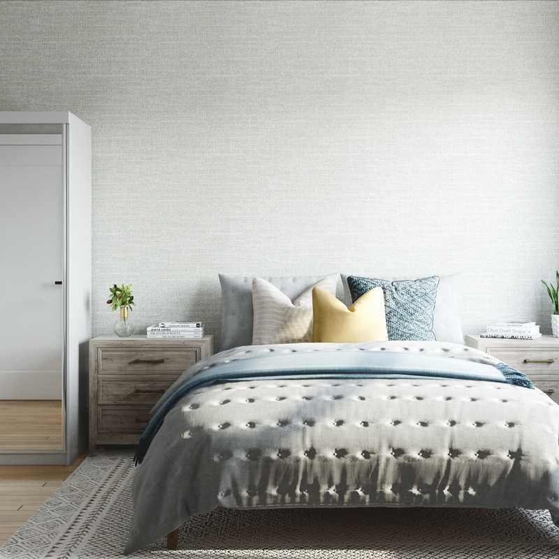 Modern, Classic Bedroom Design by Havenly Interior Designer Jessie