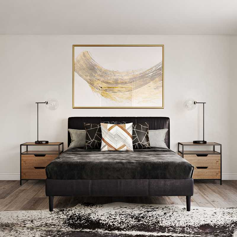 Contemporary, Modern Bedroom Design by Havenly Interior Designer Brianna