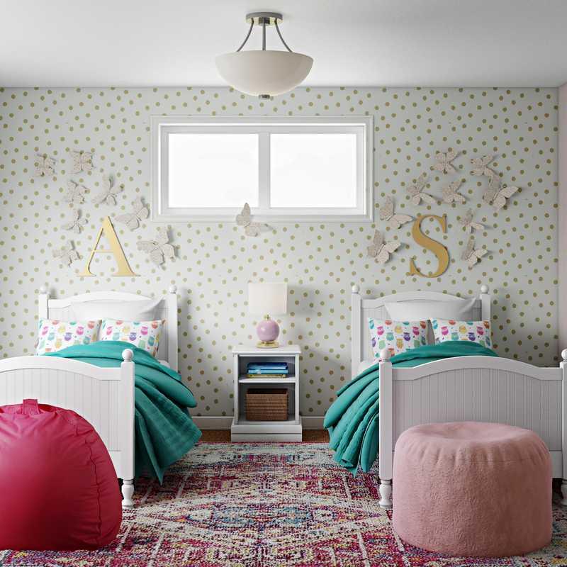 Preppy Bedroom Design by Havenly Interior Designer Dani