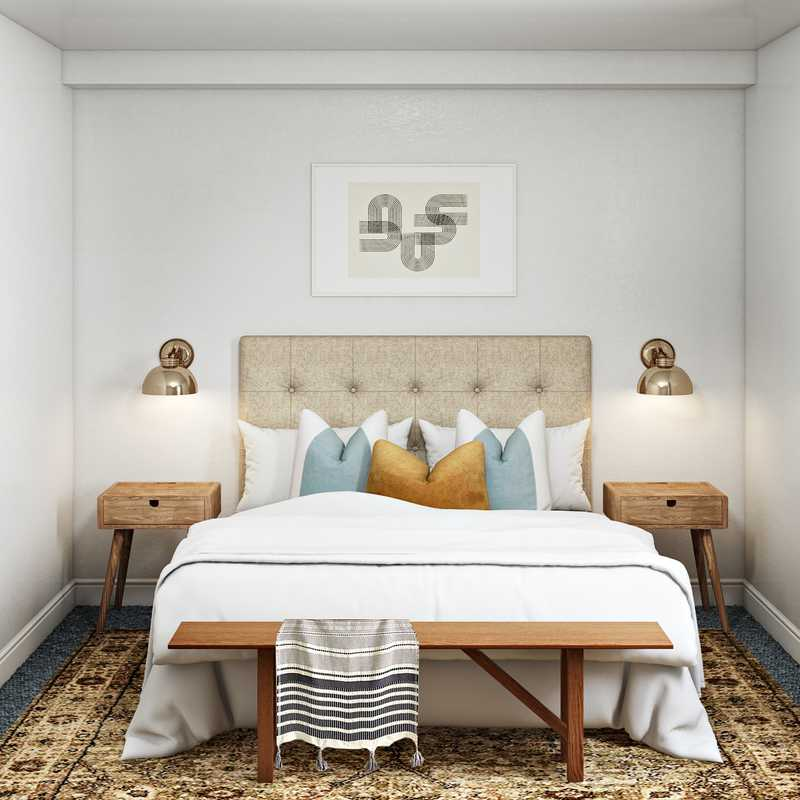 Modern Bedroom Design by Havenly Interior Designer Leah