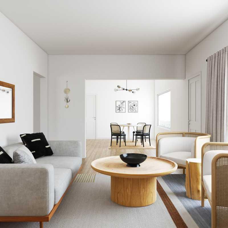 Contemporary, Modern, Bohemian, Southwest Inspired Living Room Design by Havenly Interior Designer Lyric