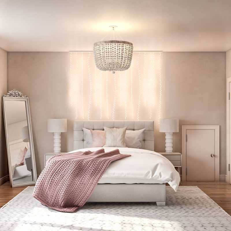 Modern, Preppy, Scandinavian Bedroom Design by Havenly Interior Designer Yoseika
