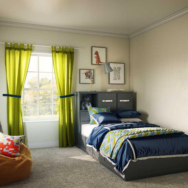 Contemporary, Traditional, Minimal, Preppy Bedroom Design by Havenly Interior Designer Sydney