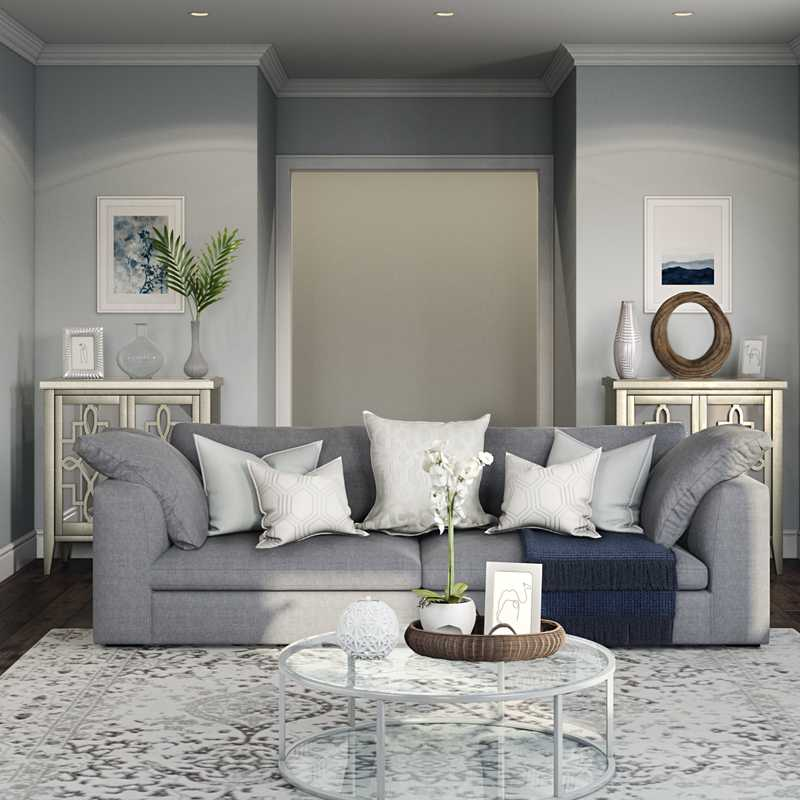 Classic, Traditional, Transitional Living Room Design by Havenly Interior Designer Hayley