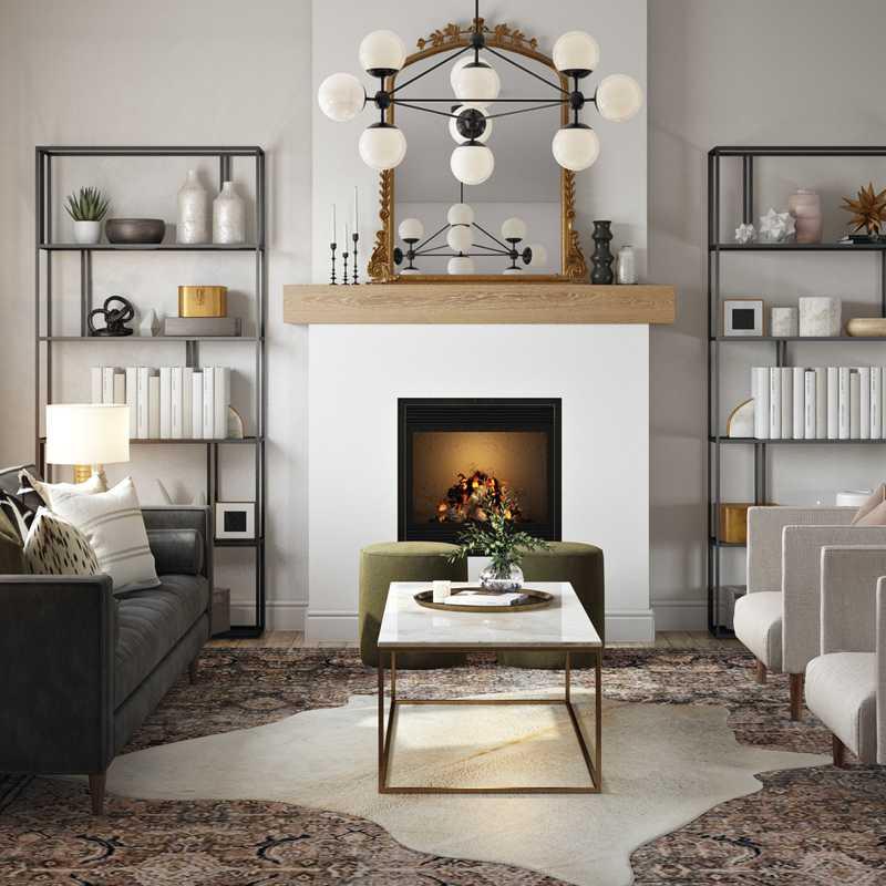 Living Room Design by Havenly Interior Designer Hannah