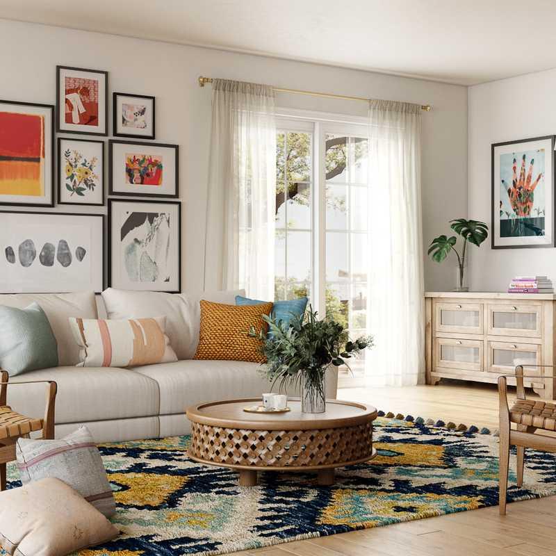 Contemporary, Modern, Bohemian Design by Havenly Interior Designer Havenly