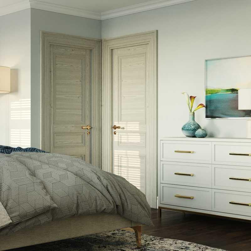 Classic, Coastal Bedroom Design by Havenly Interior Designer Erin