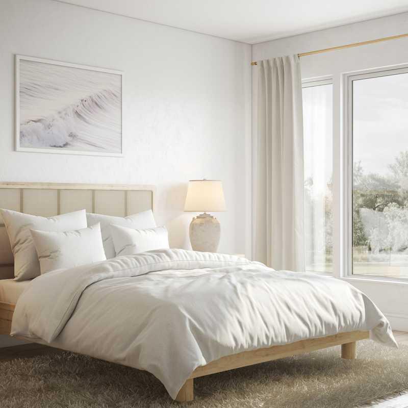 Minimal Bedroom Design by Havenly Interior Designer Marty