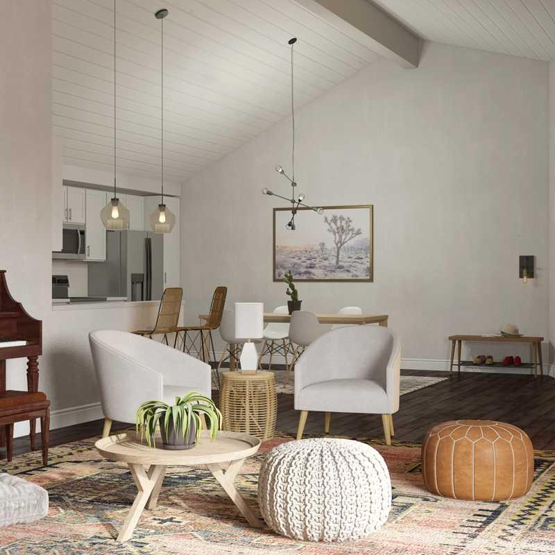 Classic, Minimal Living Room Design by Havenly Interior Designer Sydney