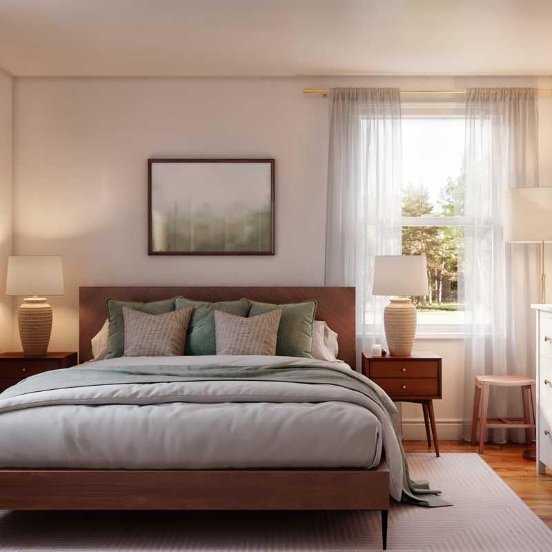 Modern, Rustic Bedroom Design by Havenly Interior Designer Jemma