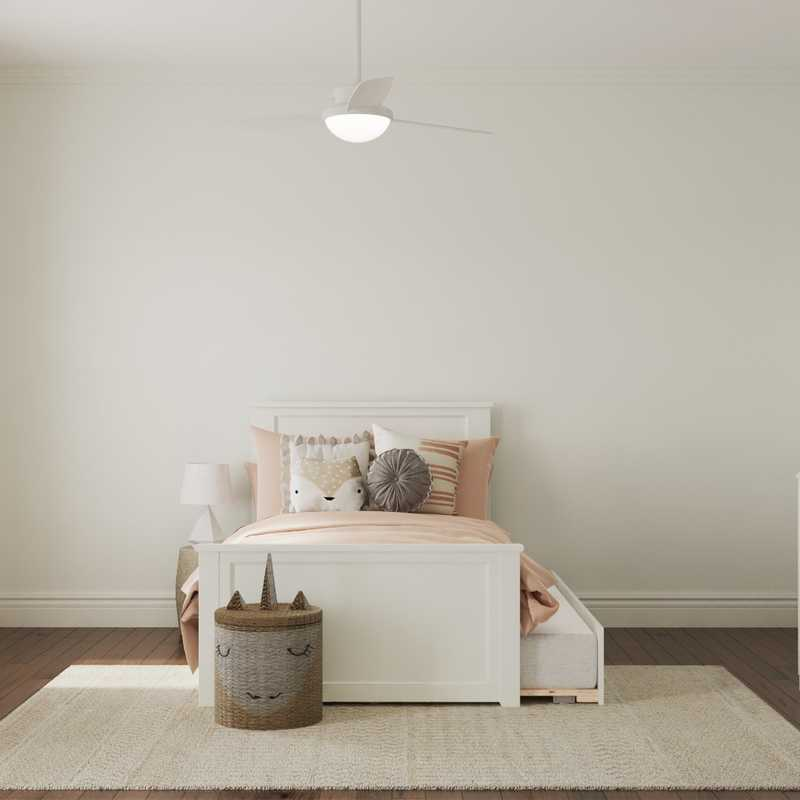 Contemporary, Transitional, Midcentury Modern Nursery Design by Havenly Interior Designer Abby