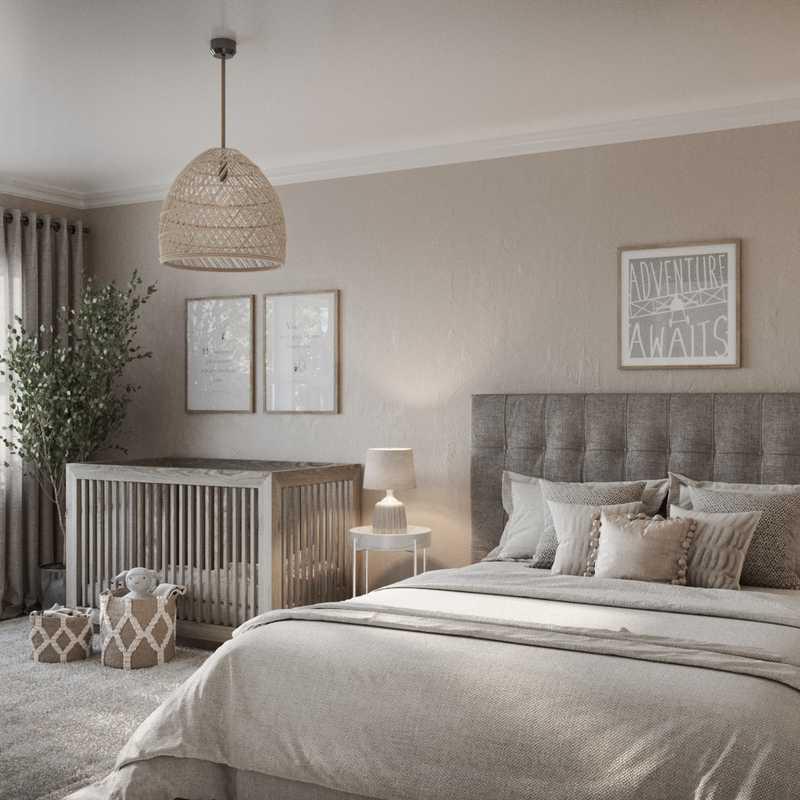 Contemporary, Modern Nursery Design by Havenly Interior Designer Astrid