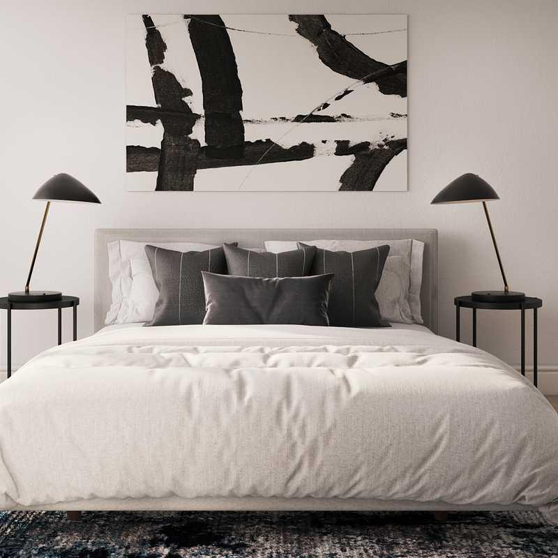 Contemporary, Modern, Midcentury Modern Bedroom Design by Havenly Interior Designer Danielle
