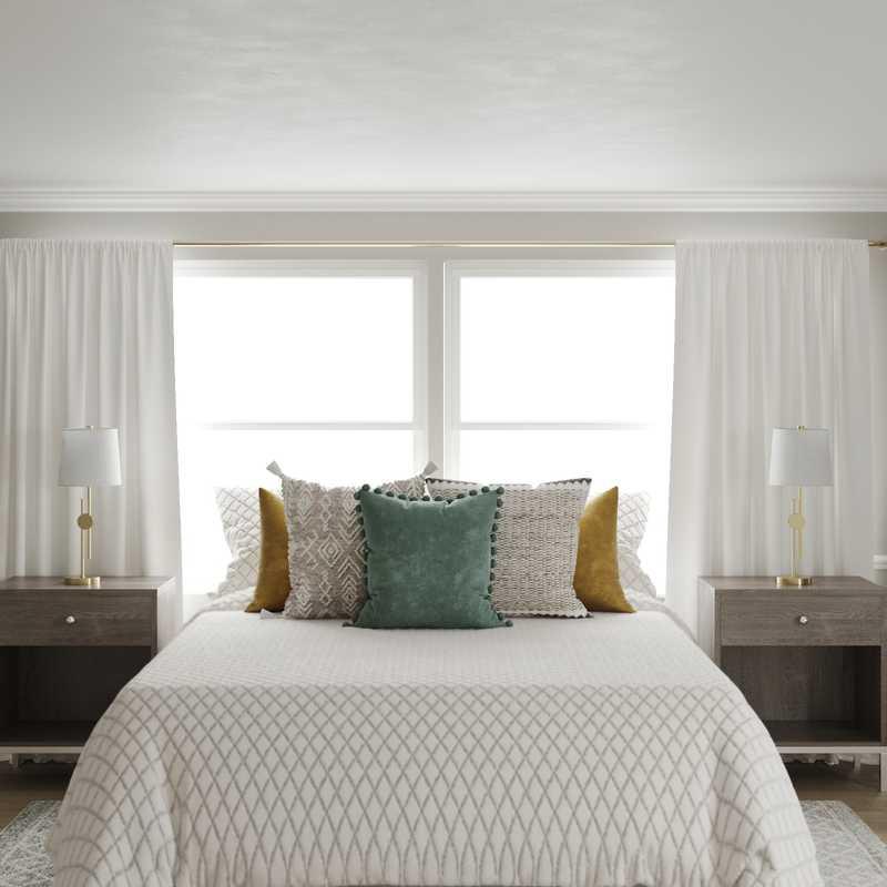 Modern, Classic Bedroom Design by Havenly Interior Designer Jessie