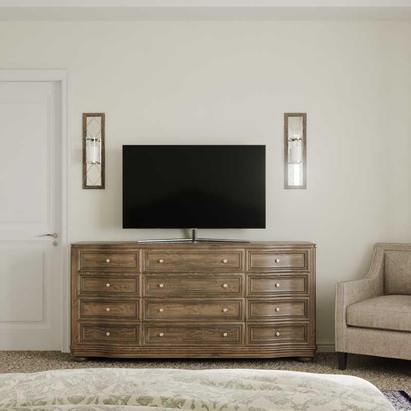 Traditional Bedroom Design by Havenly Interior Designer Brittani