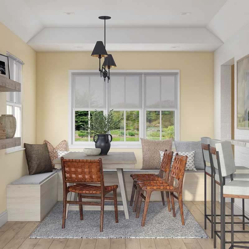 Classic, Traditional, Farmhouse, Transitional Dining Room Design by Havenly Interior Designer Nichole