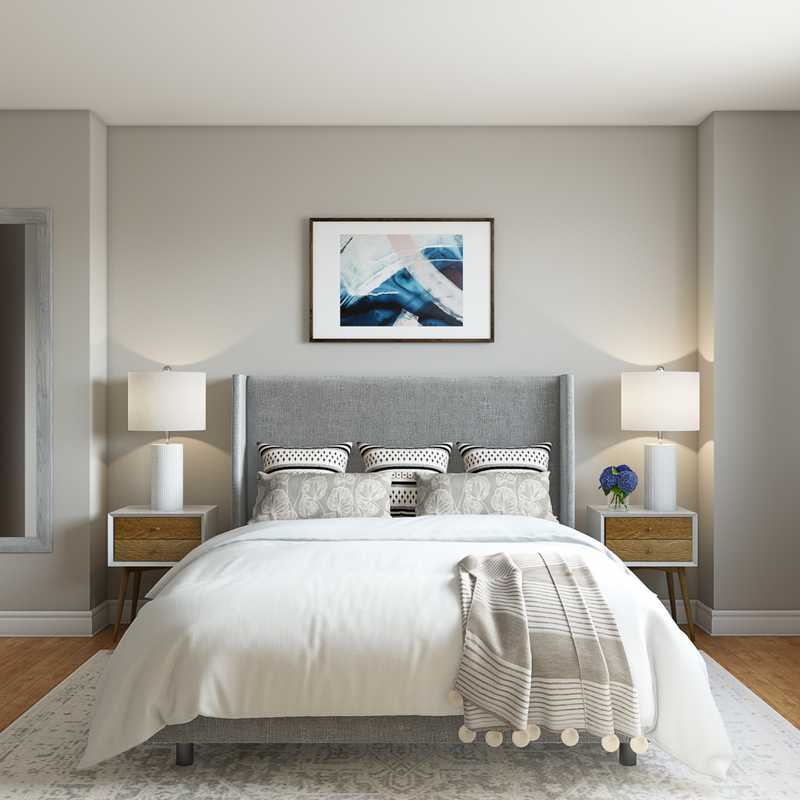 Contemporary, Classic, Transitional, Classic Contemporary Bedroom Design by Havenly Interior Designer Drew