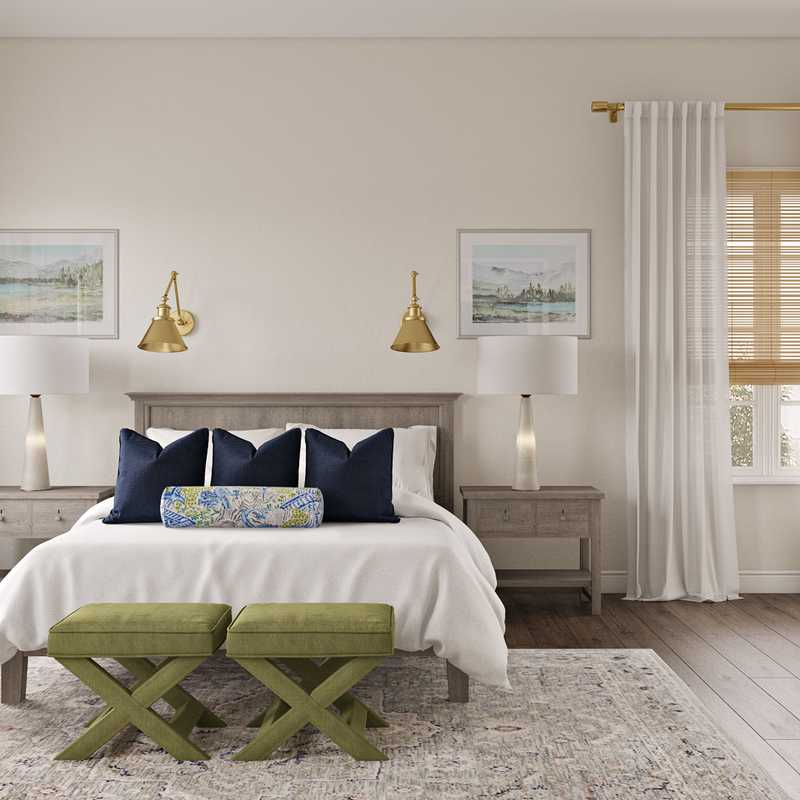 Classic Bedroom Design by Havenly Interior Designer Tracie