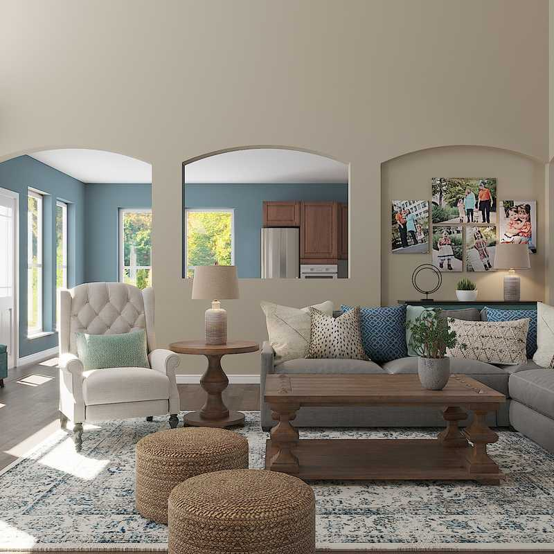 Living Room Design by Havenly Interior Designer Kassy