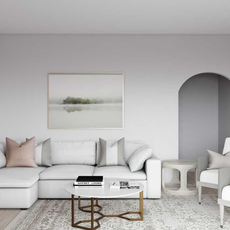 Classic Living Room Design by Havenly Interior Designer Sarah