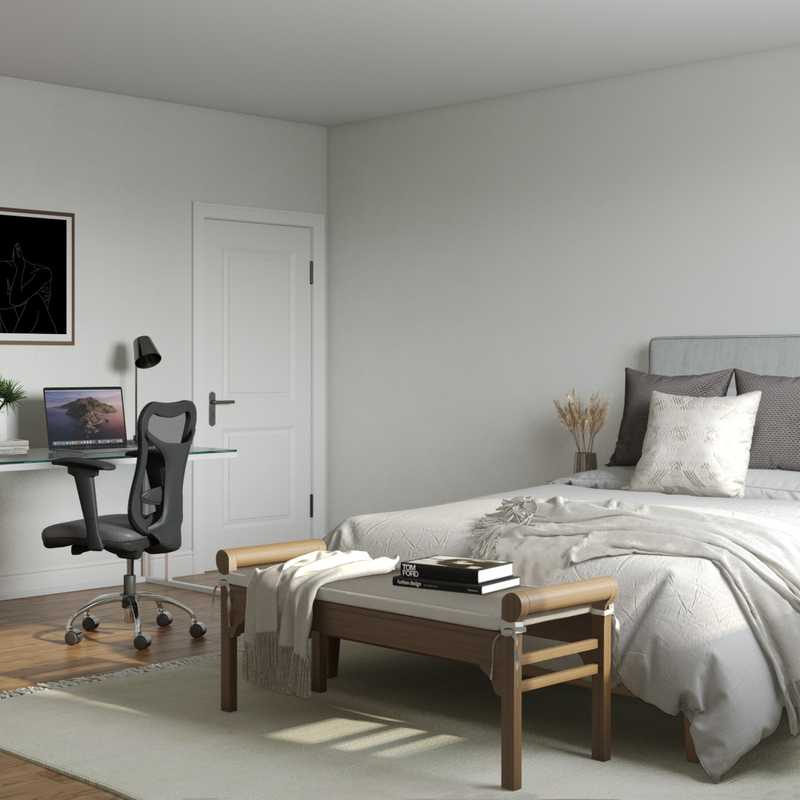Contemporary, Modern Bedroom Design by Havenly Interior Designer Erin