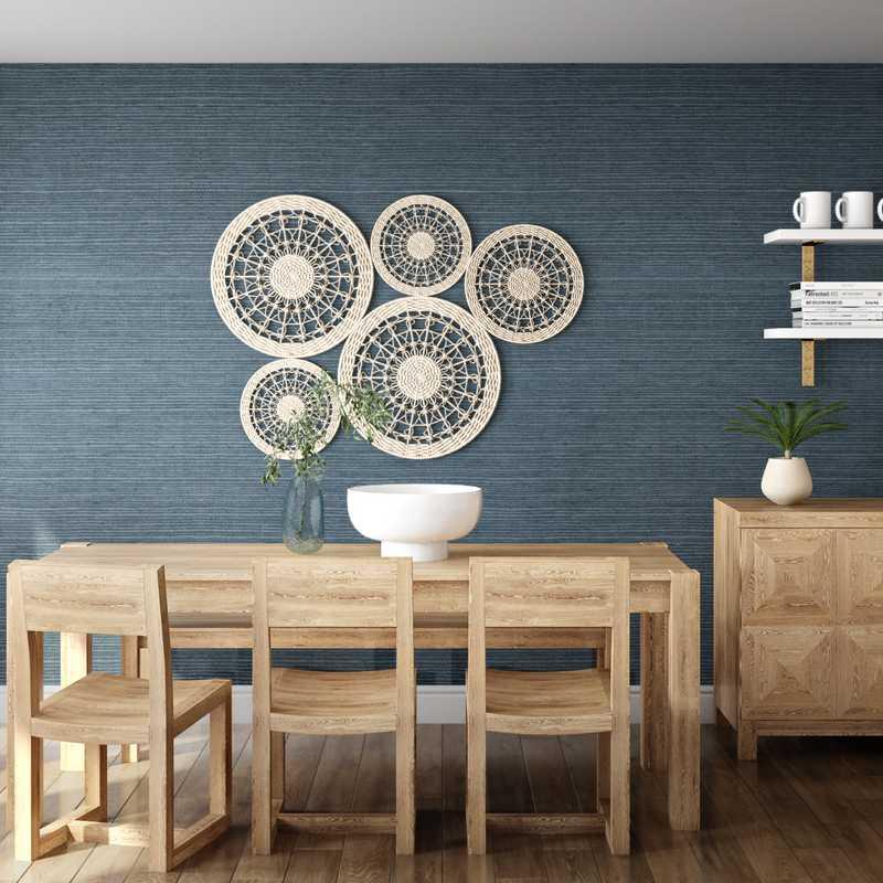 Modern, Minimal Dining Room Design by Havenly Interior Designer Jessie